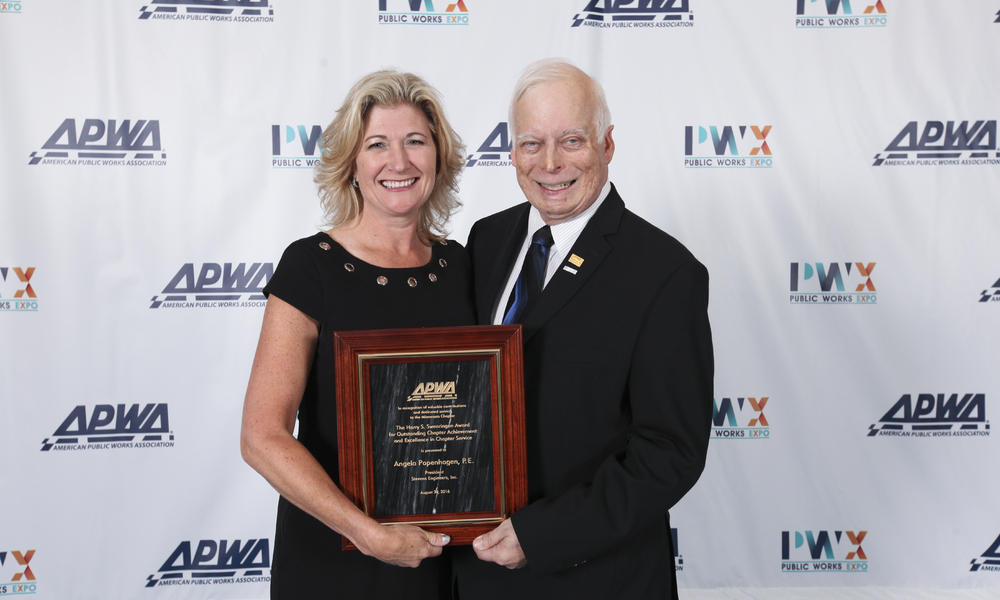 Angela APWA award